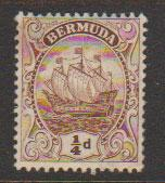 Bermuda SG 44a  perf 14 Mint Hinged see description details