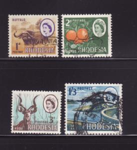 Rhodesia 223-225, 230 U Various