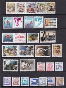 Yugoslavia a nice MNH lot from early 1990's