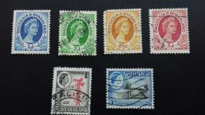 Rhodesia & Nyasaland Used