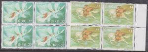 Ireland - 1997 Europa Set of 2 in Blocks of 4 VF-NH
