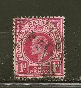 Natal 82 King Edward VII Used