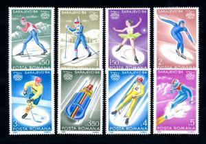 [42850] Romania 1984 Olympic games Sarajevo winter MNH