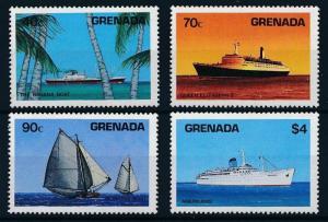[81283] Grenada 1984 Ships Boats QEII Banana Amerikanis MNH
