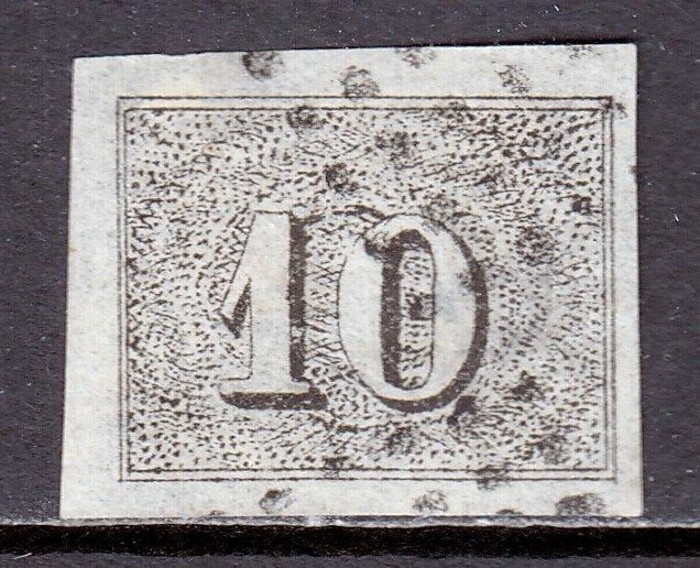 Brazil - Scott #21 - Used - Thinning- SCV $42.50