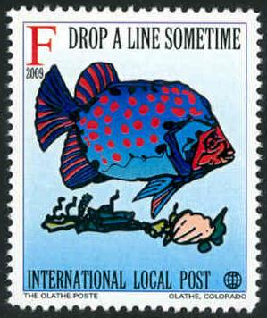 Marine Life: Fish - Intl. Local Post - MNH - Cinderella