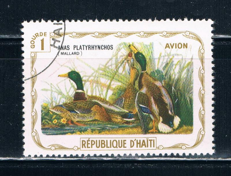 Haiti  Used Birds Mallard (H0018)