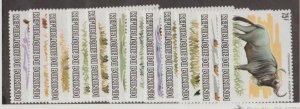 Burundi Scott #589-600 Stamps - Mint NH Set
