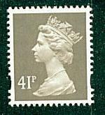 Great Britain - #MH230 Machin Queen Elizabeth II - MNH