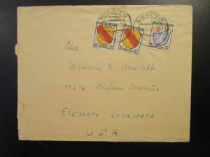Germany French Zone 1946 Cover to USA  - Z6564