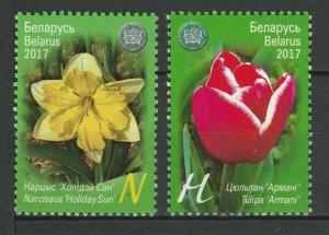 Weißrussland 2017 Natur & Pflanzen Postfrisch