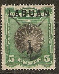 Labuan 52 SG 65 Mint F/VF 1894 SCV $42.50