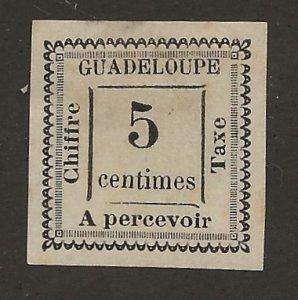 Guadeloupe J6 Mint No Gum