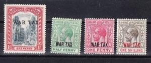 Bahamas Scott MR5-MR8 Mint hinged (Catalog Value $20.50)