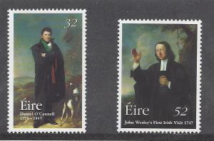Ireland, 1070-71, Famous Persons Singles,**MNH**