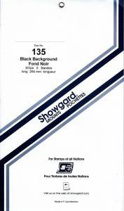 SHOWGARD BLACK MOUNTS 264/135 (5) RETAIL PRICE $11.95