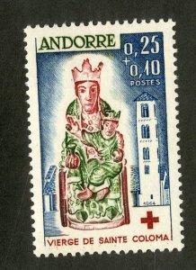 FRENCH ANDORRA B1 MLH SCV $24.00 BIN $11.50 RELIGION