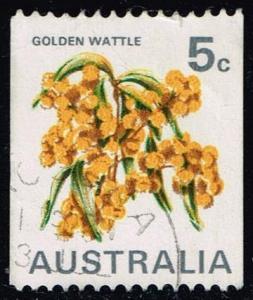Australia #439C Golden Wattle; Used (0.25)