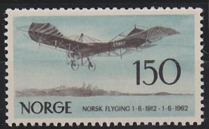 Norway 405 MNH (1962)