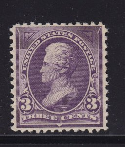 268 VF original gum lightly hinged with nice color cv $ 38 ! see pic !