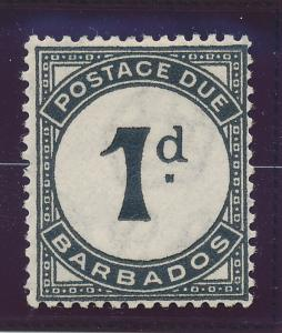 Barbados Stamp Scott #J-2, Mint Hinged - Free U.S. Shipping, Free Worldwide S...