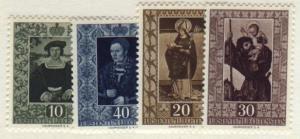 Liechtenstein #266-69  Mint VF NH