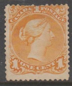 Canada Scott #23 Stamp - Cat $225 - Used Single