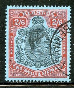 Bermuda # 124, Used. CV $ 8.75