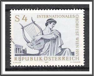 Austria #900 Choir Festival Used