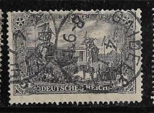 Germany Mi. #96 A I / Sc. #94  used L84