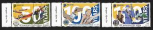 Singapore 2017 100 years of Girl Guides & Lion Club Sc 1819-1821 MNH A764
