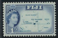 Fiji  SG317   SC# 182    Mint trace of Hinge