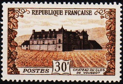 France.1951 30f S.G.1135 Mounted Mint