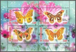 Chad 2013 Butterflies (1) MNH Cinderella !