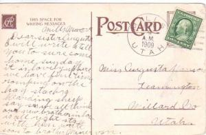 United States Utah Mills 1909 doane 2/1  1904-1939  PC.