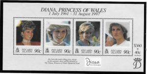 Pitcairn Islands  Scott 487 MNH  Princess Diana