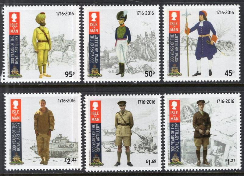 Isle of Man 1789-1794 Military MNH VF
