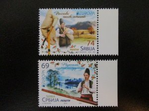 Serbia #661-62 Mint Never Hinged Europa (M8H5) WDWPhilatelic 3