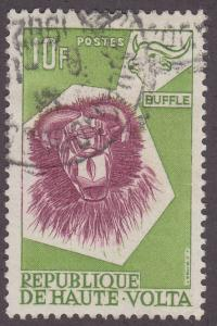 Burkina Faso 80 Buffalo Mask 1960