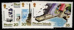 PITCAIRN ISLANDS QEII SG190-193, complete set, NH MINT.
