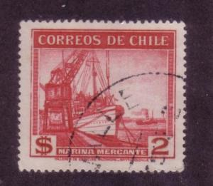 Chile Sc. # 207 Used