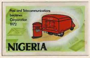 Nigeria 1972 Posts & Telecommunications Corporation -...