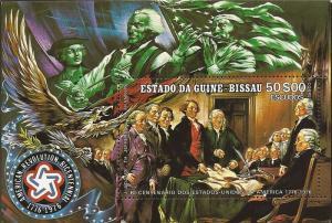Guinea-Bissau - 1976 American Revolution - Souvenir Sheet #360F