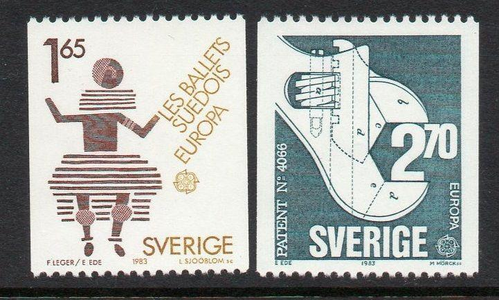 Sweden 1983 Europa Ballet Wrench VF MNH (1460-1)