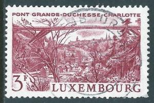 Luxembourg, Sc #444, 3fr Used