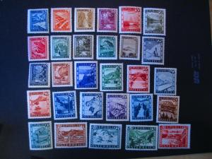 Austria #455-81 Mint Hinged- (JB1) WDWPhilatelic