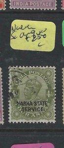 INDIA NABHA  (P1104B)  KGV  4A  SERVICE  SG O49   VFU