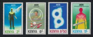 Kenya AIDS Day 4v SG#561-564