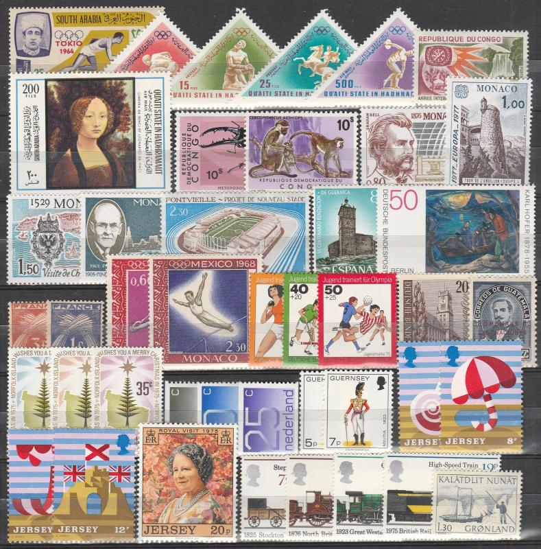 Worldwide Lot- Mint Never Hinged (A2329)