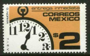 MEXICO E27, $2P Watch Special Deliver Unwmkd Fosfo. MINT, NH. VF.